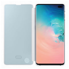 Étui Clear View Cover pour Galaxy S10+ - Blanc