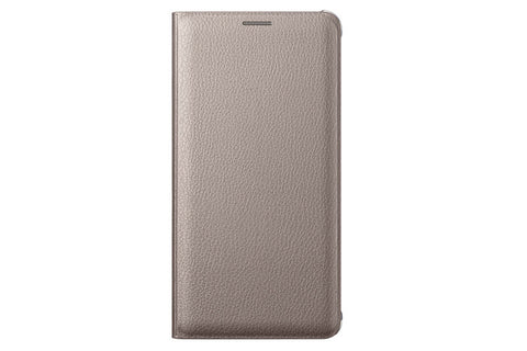 Samsung Flip Cover pour Samsung Note 5 - Gold