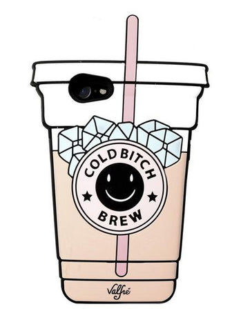 Coque Valfre COLD BITCH BREW   pour   iPhone 7+/8+