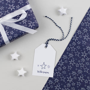 Christmas Star Gift Tags Tis the Season
