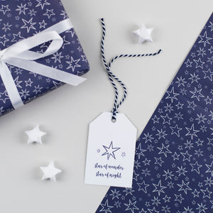 Christmas Star Gift Tags Star of Wonder