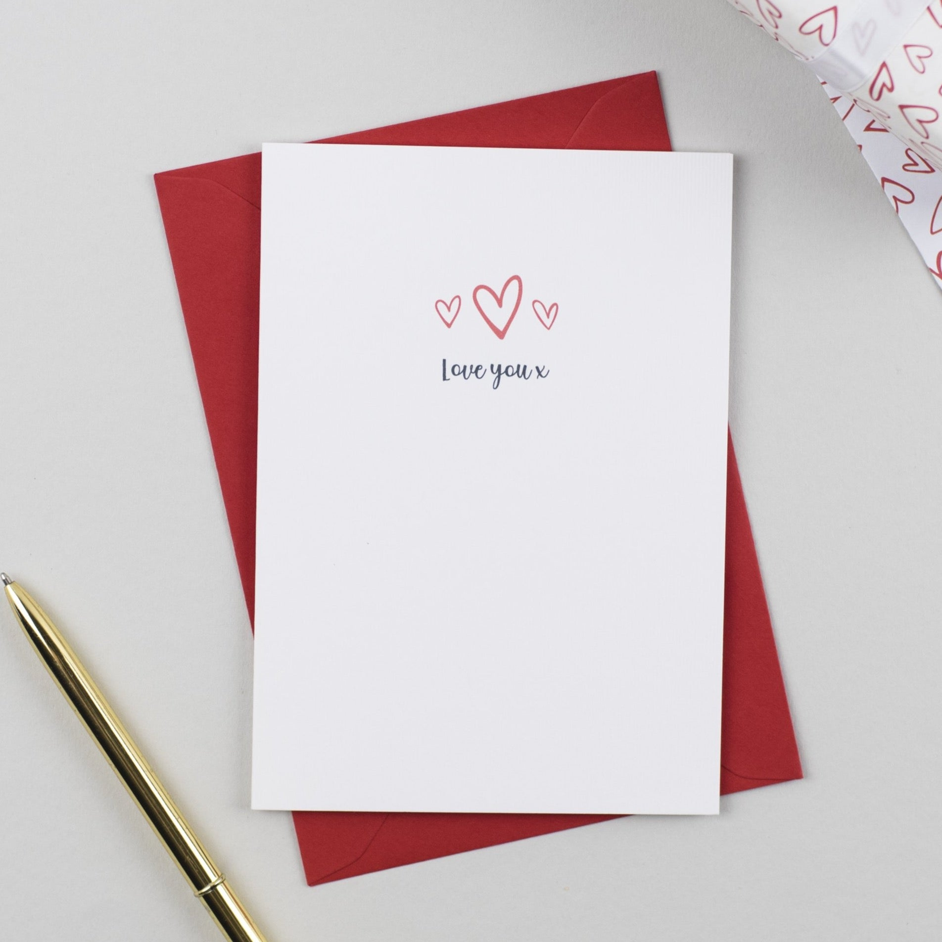 Love You Anniversary Card