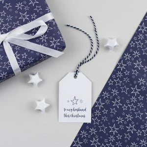 Husband Christmas Gift Tag