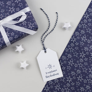 Fiance Christmas Gift Tags