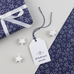 1st Christmas Wife Gift Tag