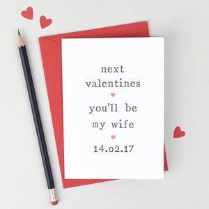Card for Future Husband