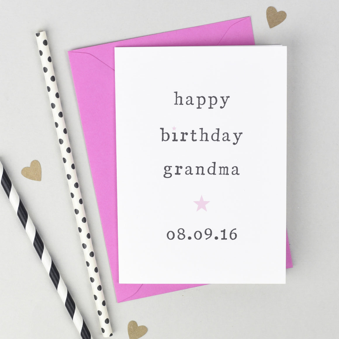 'Happy Birthday' Grandparents Card Card - The Two Wagtails