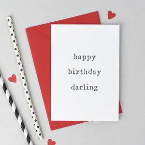 Happy Birthday Card Card - The Two Wagtails