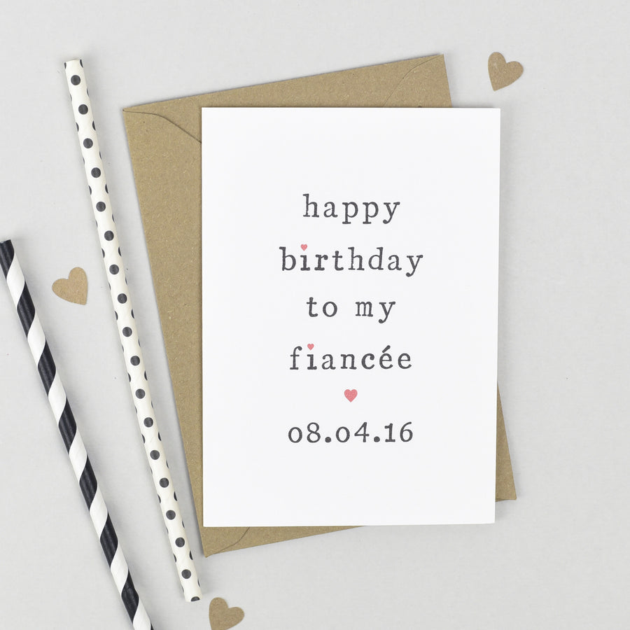 Personalised 'Happy Birthday To My' Birthday Card Card - The Two Wagtails