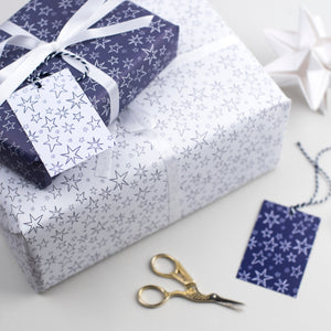 Christmas Star Wrapping Paper Set