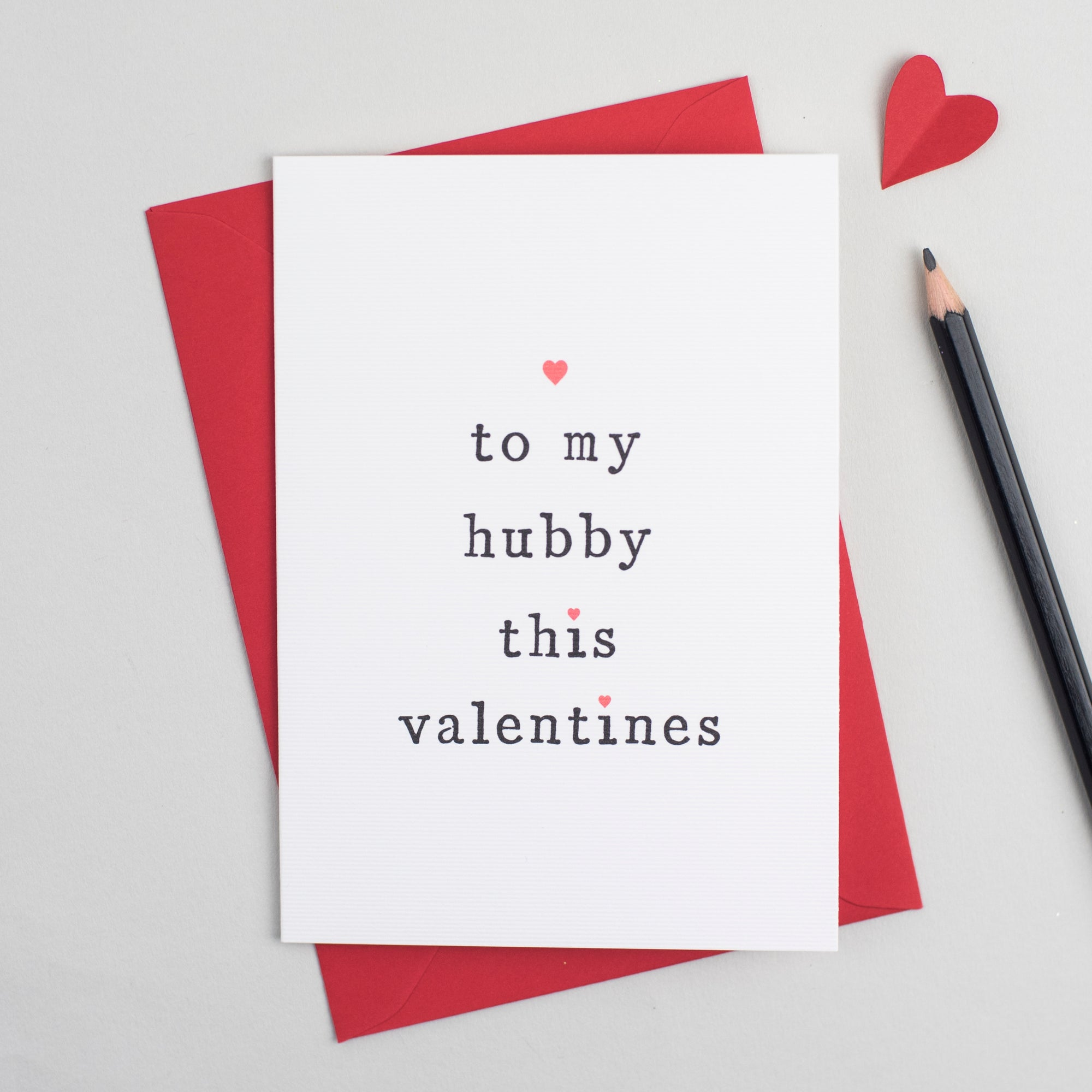 'To My Husband or Wife' Valentine's Day Card Card - The Two Wagtails