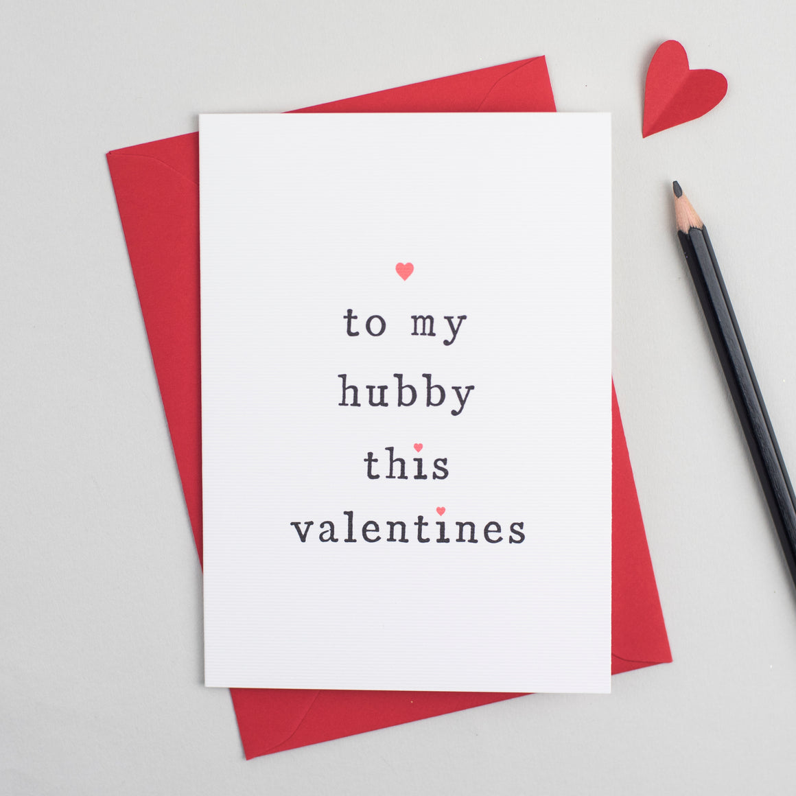 'To My Husband or Wife' Valentine's Day Card