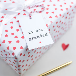To Our Grandad Fathers Day Gift Tag