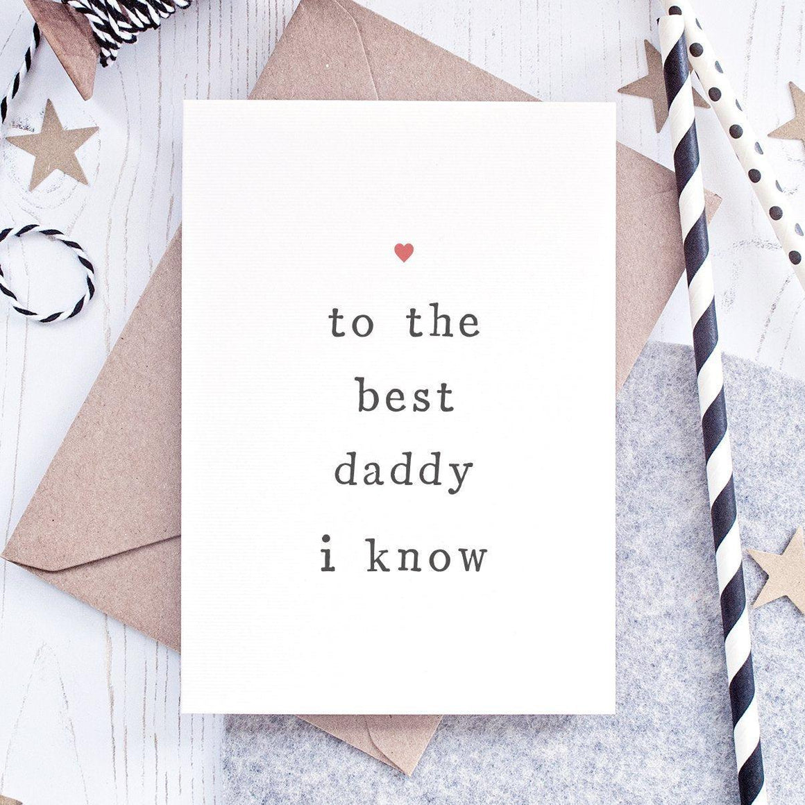best daddy fathers day card
