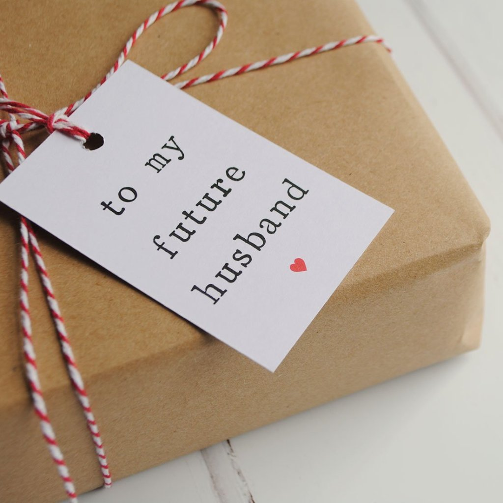 To My Future Husband Or Wife Gift Tag