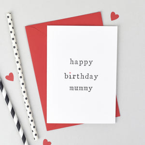 'Happy Birthday' Parents Birthday Card Card - The Two Wagtails