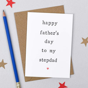 Happy Father's Day Stepdad Card