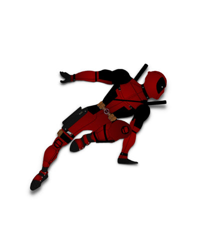 Sticker Gravity Deadpool