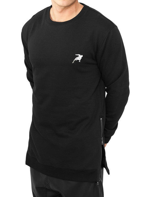 sweatshirt oversize zip gravity