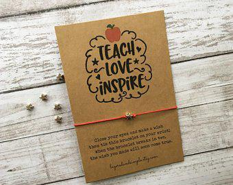 Wish Bracelet, Teach Love Inspire