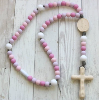 Miraculous Mary Rosary {silicone}