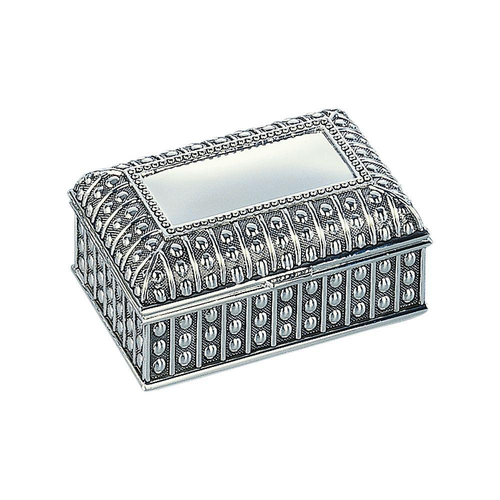 Rectangle Beaded Jewelry Box