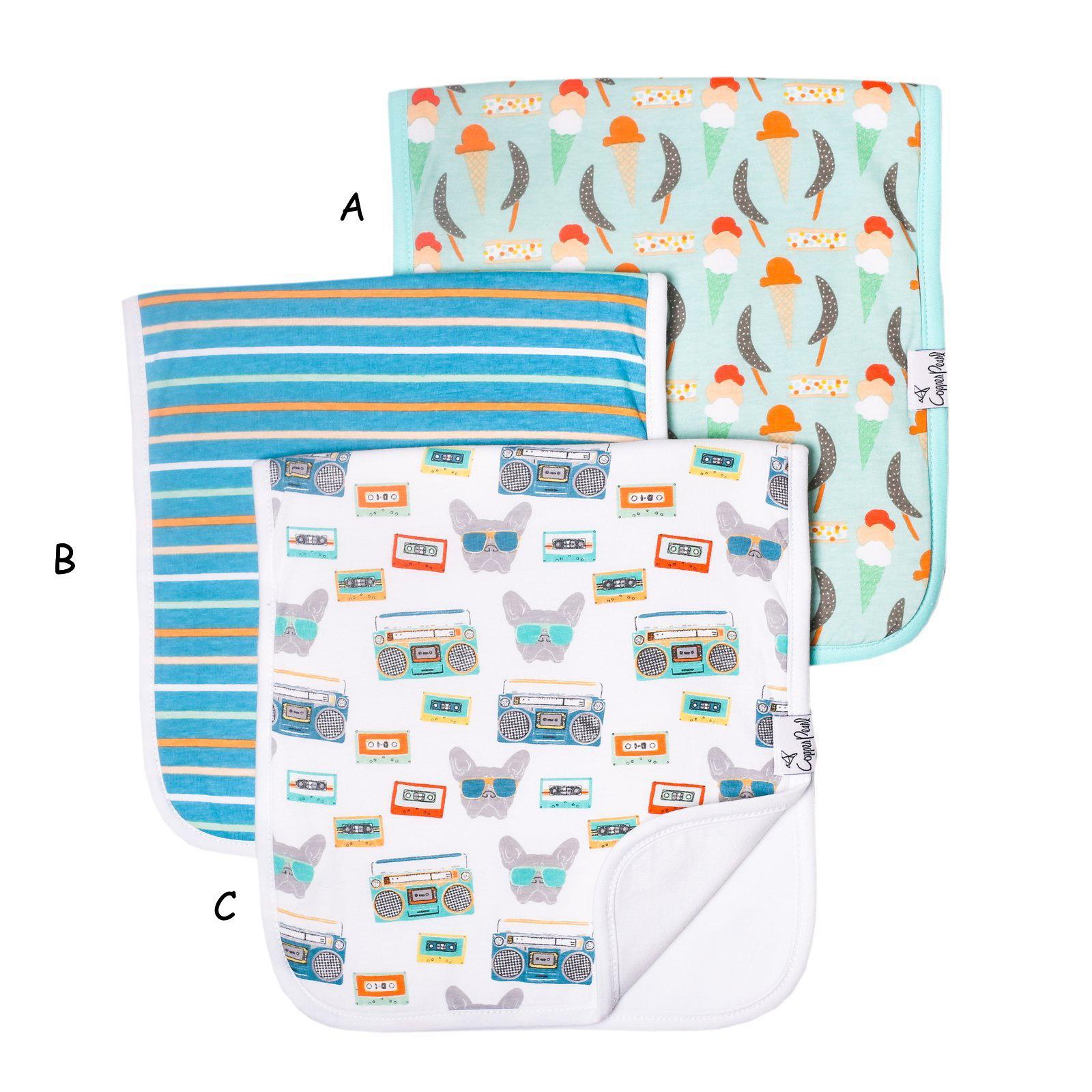 Burp Cloth, Bruno
