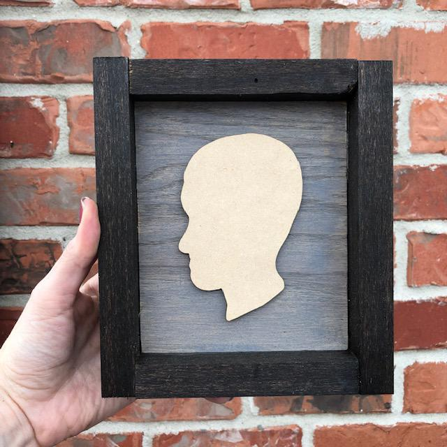 Silhouette Plaque, Single