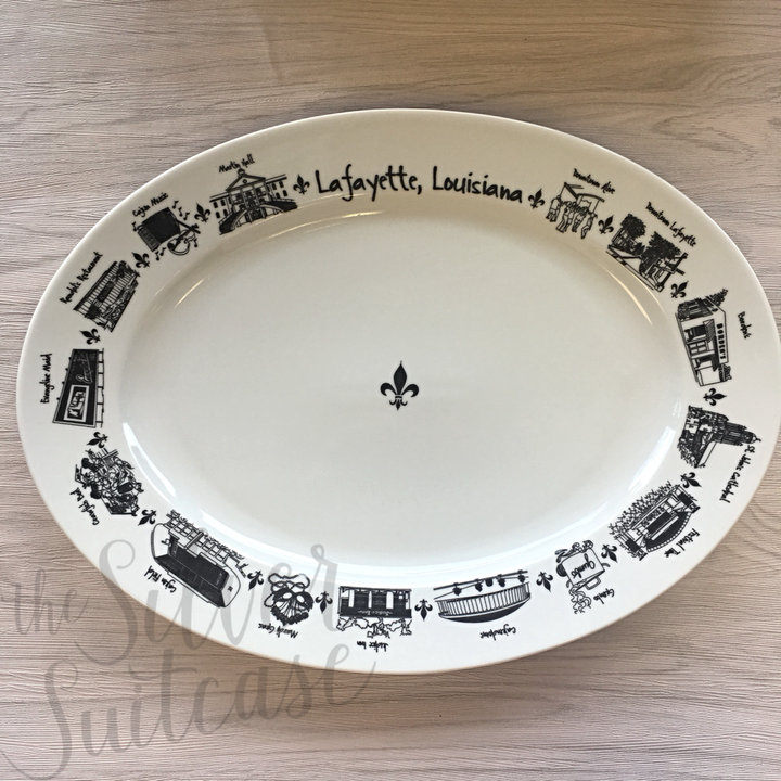 The Lafayette Collection Platter, Oval