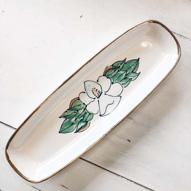 Magnolia Bread Tray
