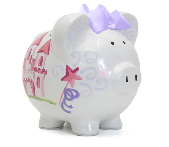 Magic Fairy Castle Piggy Bank