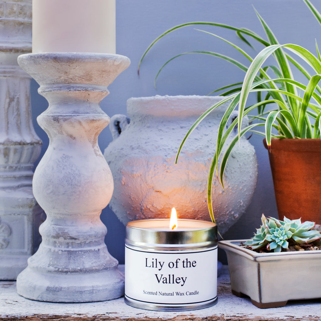 Our candles are made with natural soy wax.