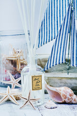 100ml reed diffuser 'Rock Salt & Driftwood' from the Scent of the Dales collection by JustNow Designs