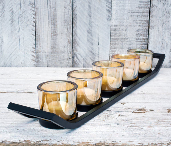[product_'Blackcurrant and Tuberose' scented natural wax candle in glass tumbler.title] - JustNow designs Home