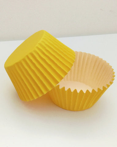 Mix n Match Yellow Cupcake Cases