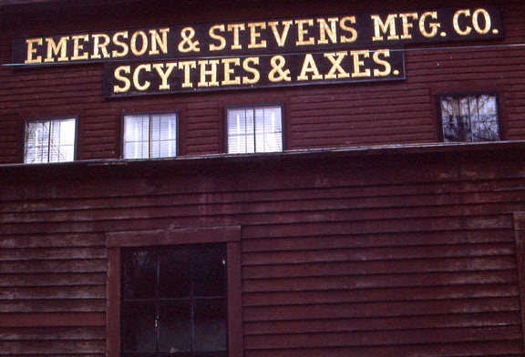 Exclusive! Color Photos of the Emerson & Stevens Axe Factory from the 1960's