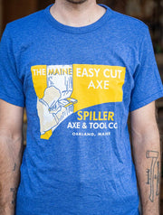 Maine Easy Cut Axe T-Shirt