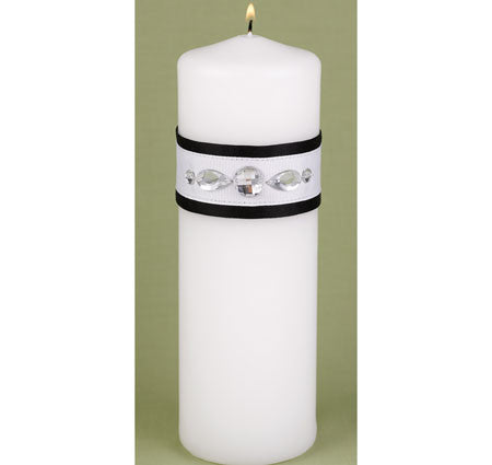 Glitz and Glam Unity Candle, Sale $28