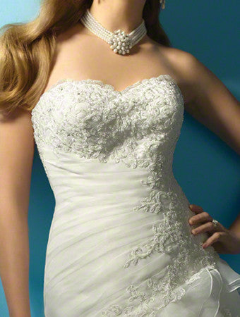 Alfred Angelo 2123 Ivory size 20W wedding gown, $850