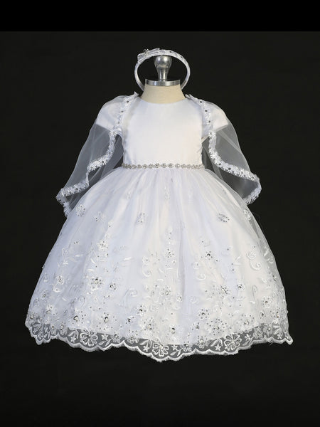 Tip Top 2298 White Size 6 Flower Girl dress