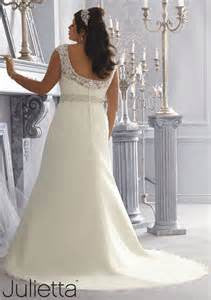 Mori Lee 3168 Wedding gown, Ivory Size 28W, Sale $850