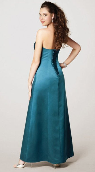 Alfred Angelo 7131 Tealness Size 10 bridesmaid dress, evening dress