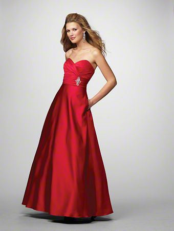 Alfred Angelo 7166 Cherry bridesmaid dresses, evening dresses Size 4