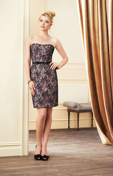 Alfred Angelo 7263S Loves First Blush/Black, Sale $89
