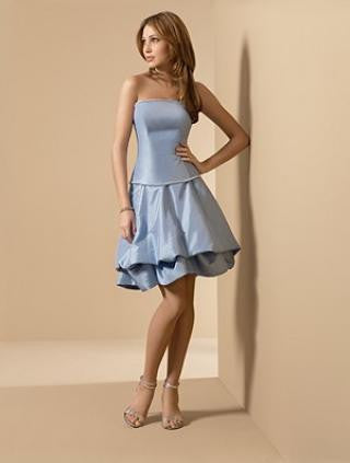Alfred Angelo 6538, Blue Forest size 12, Sale $88