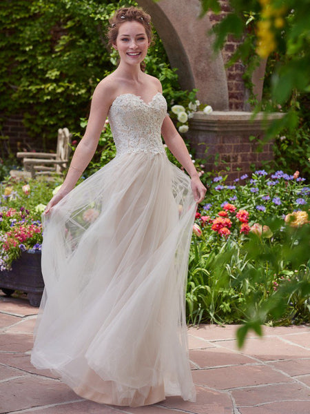 Rebecca Ingram by Maggie Sottero Chelsea 7RD435 Ivory Size 18 wedding dress