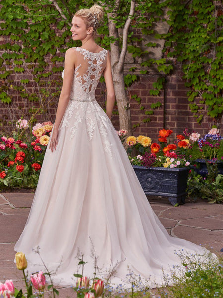 Rebecca Ingram by Maggie Sottero Olivia 7RS290 Ivory Size 8