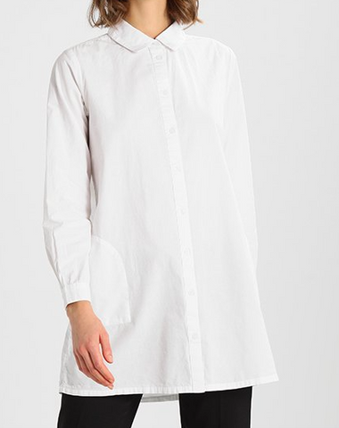Kaffe Holly Tunic in optical white