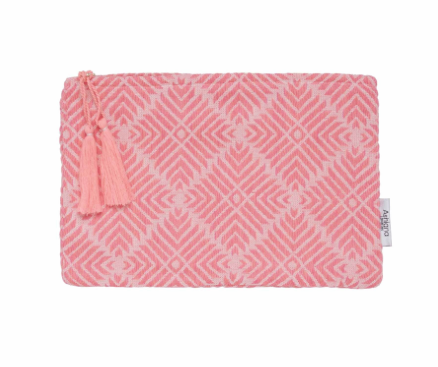 Ashiana mini pouch in hot pink