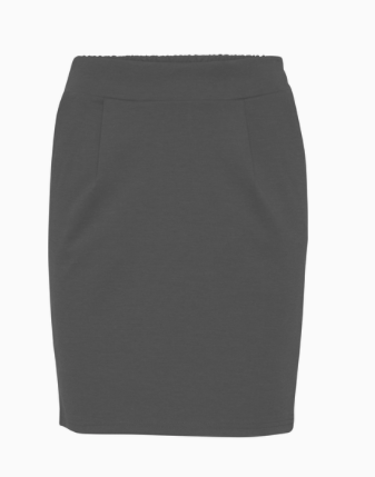 ICHI Kate skirt in black